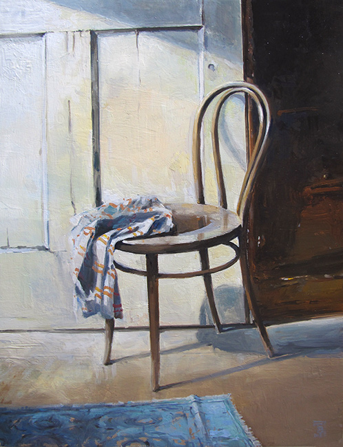 Still Life with Chair 2016 oil on wood 40 x 50 cm & Still Life Archives | tbelobrajdictbelobrajdic